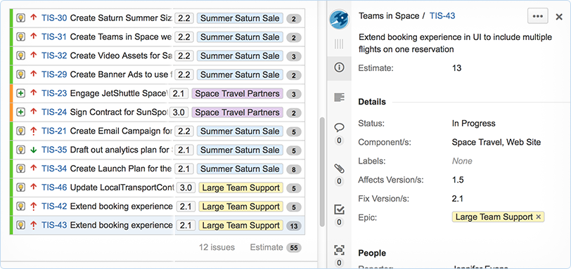 JIRA Agile Estimation