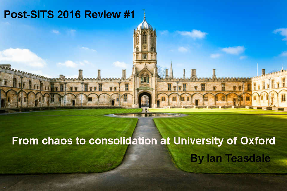ITSM at Oxford University