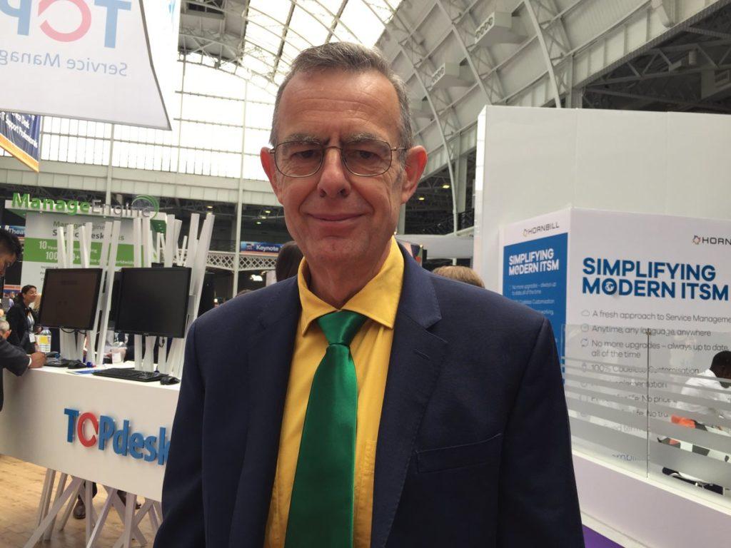 Stuart Rance at ITSMf UK 2016
