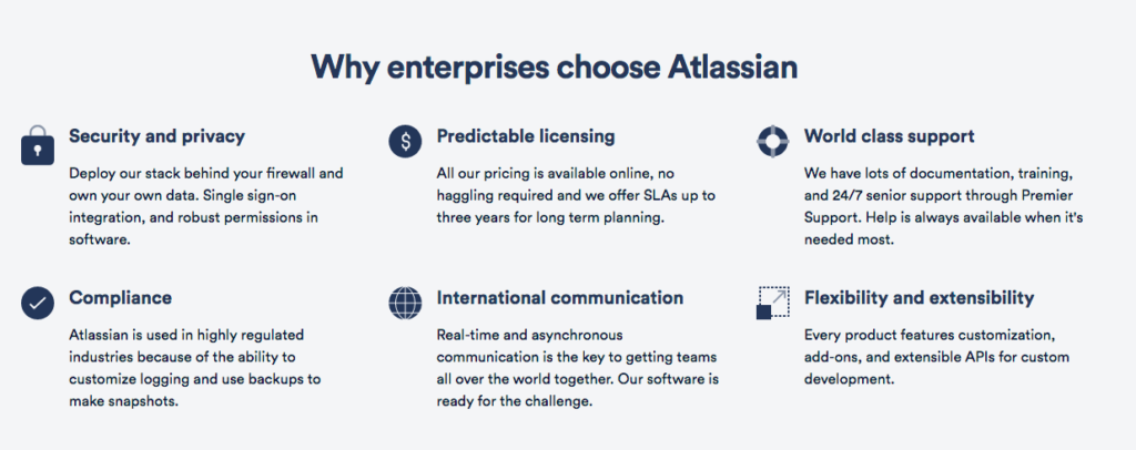 Why enterprises choose atlassian