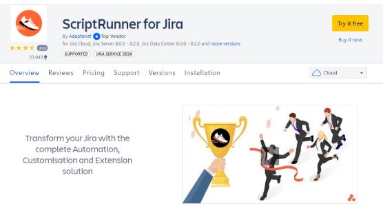 ScriptRunner for Jira
