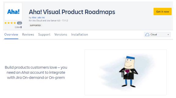 Aha! Visual product roadmaps