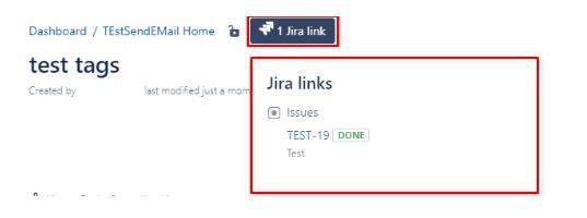 Jira link в Confluence